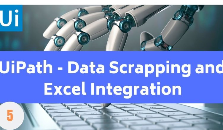 UiPath Data Scraping Example - Learn RPA online free