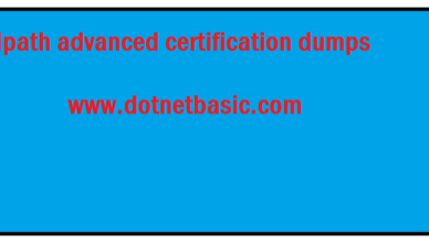 UiPath advanced certification dumps