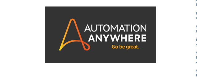 Automation Anywhere Certification Dumps - Learn RPA online free