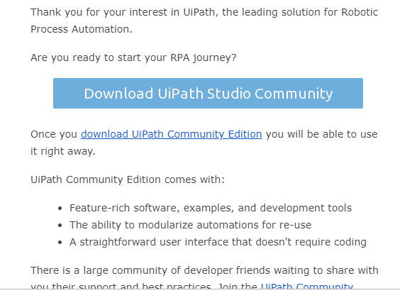 UiPath Download File