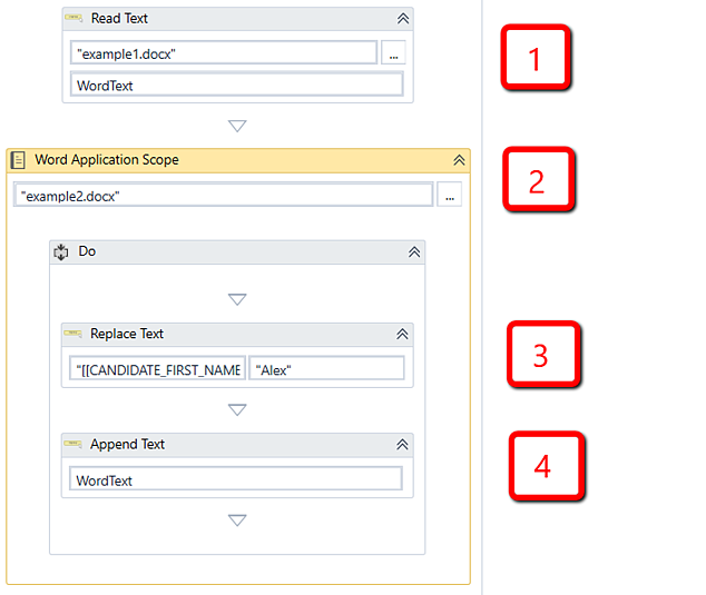 Word Automation in uipath
