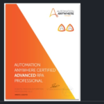 automation anywhere certification questions